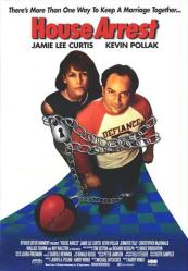 House Arrest movie poster [Jamie Lee Curtis & Kevin Pollak] video