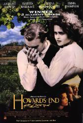 Howards End movie poster [Helena Bonham Carter, Anthony Hopkins] GD