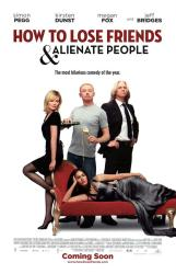 How To Lose Friends & Alienate People poster [Megan Fox/Pegg/Bridges]