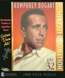 Humphrey Bogart jigsaw puzzle: Legends (White Mountain) 1000-piece