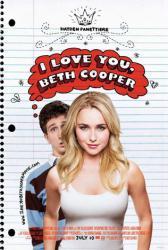 I Love You, Beth Cooper movie poster [Hayden Panettiere & Paul Rust]