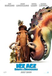 Ice Age: Dawn of the Dinosaurs movie poster (2009) 27x40 advance