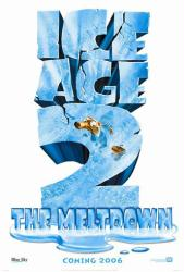 Ice Age: The Meltdown movie poster (2006) original 27x40 advance
