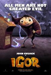 Igor movie poster (2008) 27x40 advance teaser