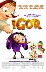 Igor movie poster (2008) original 27x40 one-sheet