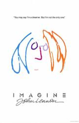 Imagine: John Lennon movie poster (27x40) 1988 documentary