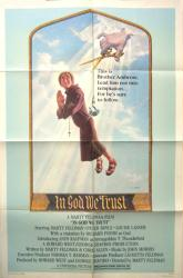 In God We Trust movie poster [Marty Feldman] original one-sheet