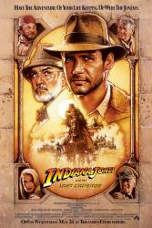 Indiana Jones and the Last Crusade movie poster [Harrison Ford] 27x40