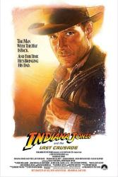 Indiana Jones and the Last Crusade movie poster [Harrison Ford]