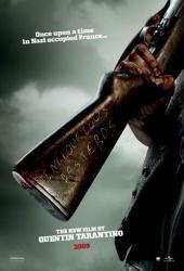 Inglourious Basterds movie poster [Quentin Tarantino] 27x40 advance