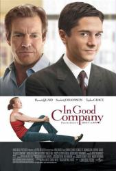 In Good Company poster [Dennis Quaid/Topher Grace/Scarlett Johansson]