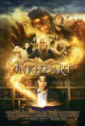 Inkheart movie poster [Brendan Fraser, Helen Mirren & Paul Bettany]