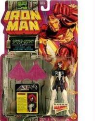 Iron Man: Spider-Woman action figure (ToyBiz/1994)