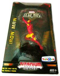 Marvel Legends [Titanium Series] Iron Man DieCast figure (Hasbro/2007)