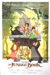 The Jungle Book movie poster [Walt Disney] 1984 one-sheet