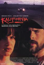 Kalifornia movie poster [Brad Pitt, Juliette Lewis] 26x40 video poster