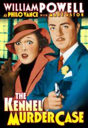 The Kennel Murder Case poster [William Powell/Mary Astor] 11'' X 17''