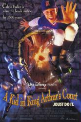 A Kid In King Arthur's Court movie poster [Thomas Ian Nicholas] Disney
