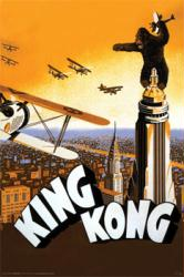 King Kong movie poster [1933] 34x22