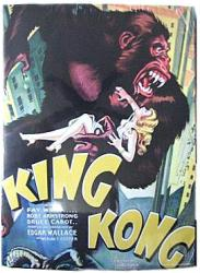 King Kong movie poster (1933) [Fay Wray] 21'' X 28 1/4''