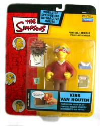 The Simpsons Series 11: Kirk Van Houten action figure (Playmates/2002)