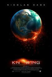 Knowing movie poster (2009) original 27x40 advance