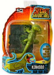 The Secret Saturdays: Komodo cryptid figure (Mattel/2009) New