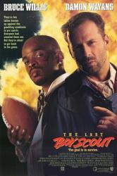 The Last Boy Scout movie poster [Bruce Willis, Damon Wayans] 27x40