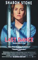 Last Dance movie poster [Sharon Stone] 26x40 video version NM