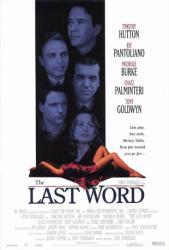The Last Word movie poster [Timothy Hutton/Joe Pantoliano/Palminteri]