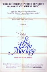 Le Beau Marriage movie poster [Eric Rohmer film] original US one-sheet