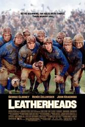 Leatherheads movie poster [George Clooney & John Krasinski]