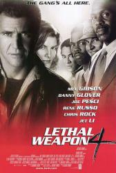Lethal Weapon 4 movie poster [Mel Gibson, Danny Glover, Joe Pesci]