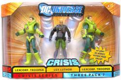 DC Universe [Crisis] Lex Luthor/Lexcorp Troopers figures (Mattel/2008)