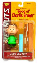Peanuts Good Ol' Charlie Brown: Linus Van Pelt figure [Green/Lg Frown]