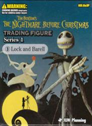 The Nightmare Before Christmas: Lock & Barell trading figure set (JUN)