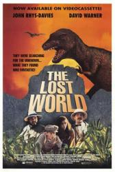 The Lost World movie poster (1992) [John Rhys-Davies & David Warner]