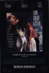 Love, Cheat & Steal movie poster [John Lithgow, Eric Roberts] 27x40