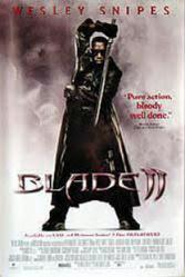 Blade II movie poster [Wesley Snipes] 27x40 video poster