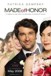 Made of Honor movie poster [Patrick Dempsey & Michelle Monaghan]