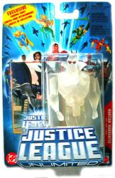 Justice League Unlimited: Martian Manhunter figure [H0005] Mattel