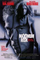 Maximum Risk movie poster [Jean-Claude Van Damme & Natasha Henstridge]