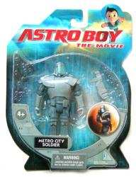 Astro Boy: Metro City Soldier action figure (Jazwares/2009)