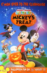 Mickey Mouse Clubhouse DVD poster: Mickey's Treat [Disney] Halloween
