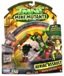 TMNT Mini Mutants Aerial Assault: Mike/Elite Foot figures (Playmates)