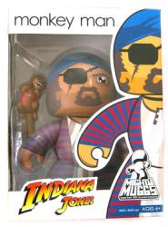 Indiana Jones [Mighty Muggs] Monkey Man figure (Hasbro/2008) New