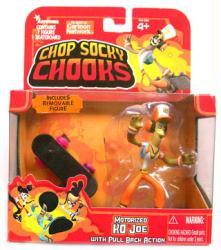Chop Socky Chooks: Motorized Skateboarding KO Joe figure (JadaToys)
