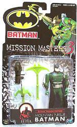 Batman [Mission Masters 3] Mountain Pursuit Batman figure (Hasbro)