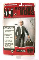 Reservoir Dogs: Mr. Pink action figure (Mezco/2001) New