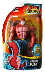 The Secret Saturdays: Mutant Munya action figure (Mattel/2009)